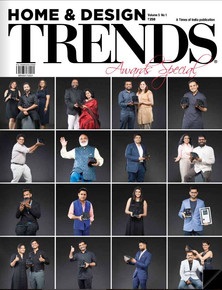 On the cover of Trends Awards issue , May 2017