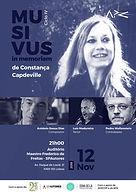 MUSIVUS - In Memoriam Constança Capdeville / António de Sousa Dias / Pedro Wallenstein / Luís Madureira
