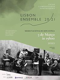 Ciclo de Compositores Portugueses - 3rd March 2020