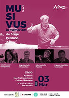 MUSIVUS - In Memoriam Jorge Peixinho / Isabel Soveral / Evgueni Zoudilkine / Jorge Machado / João Pereira Coutinho