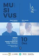 MUSIVUS Miguel Azguime / Sílvia Cancela