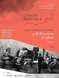 Ciclo de Compositores Portugueses - 4th February 2020