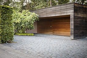 construction bois Garage en bois Annecy , pays de Gex , Annemasse , Haute-savoie