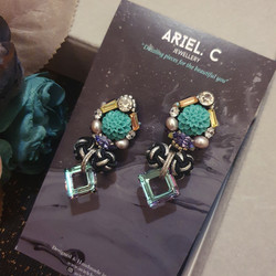 | AROF05| 雅- Gracious Dalia Earrings