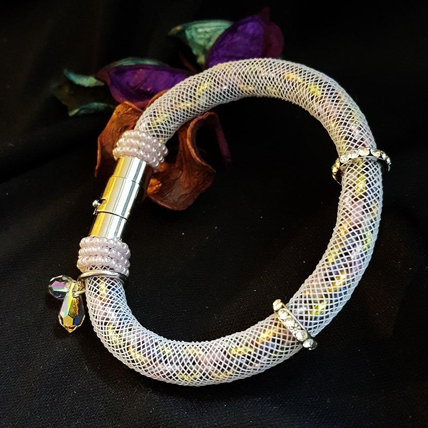 | ARF011 | Kumihimo bracelet (Lilac)