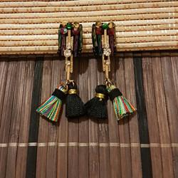 | ART003 | Aztec Rainbow Earrings