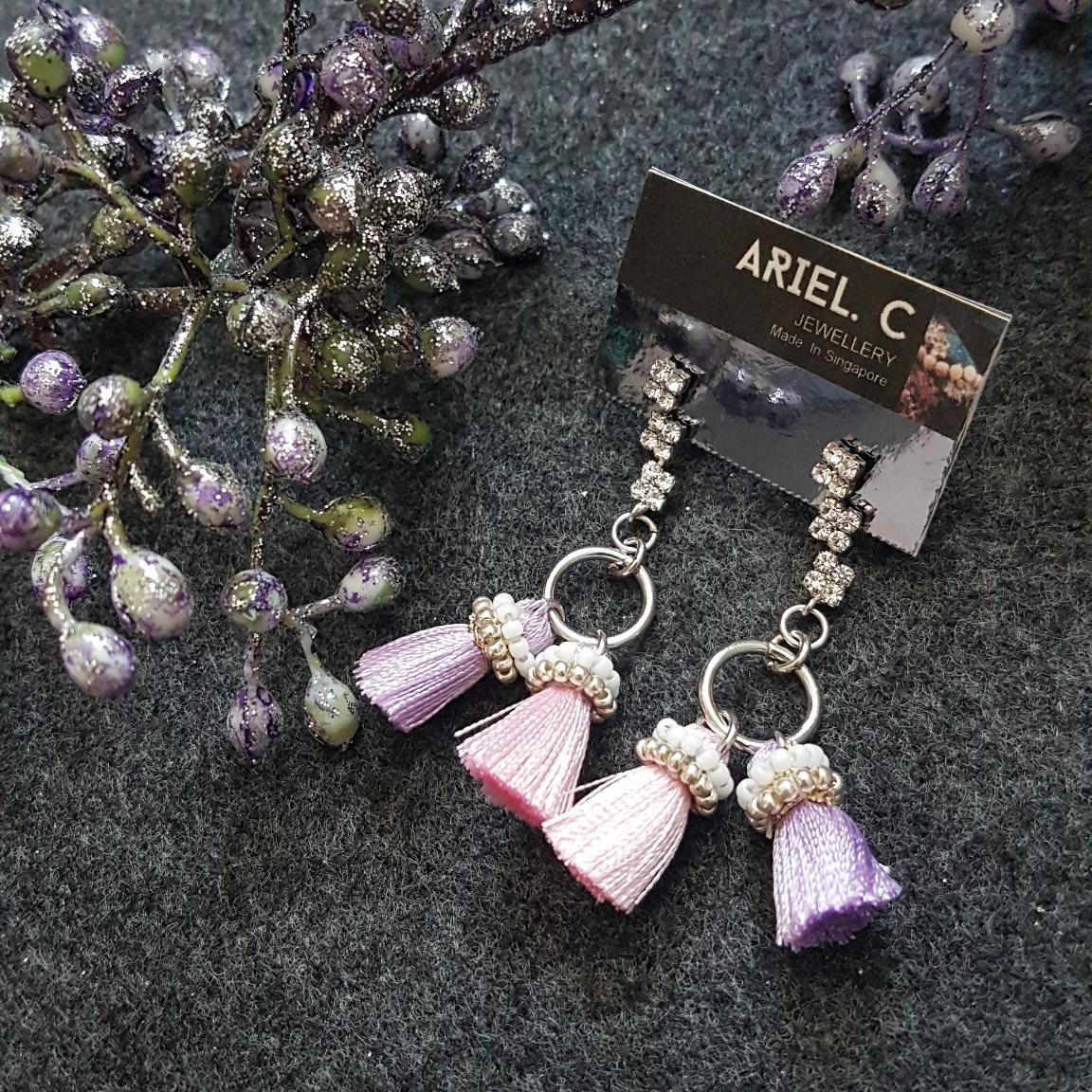 | ARSS01 | Pastel Ring Earrings
