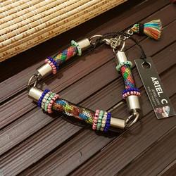 | ARC012 | Rainbow Tubular Bracelet