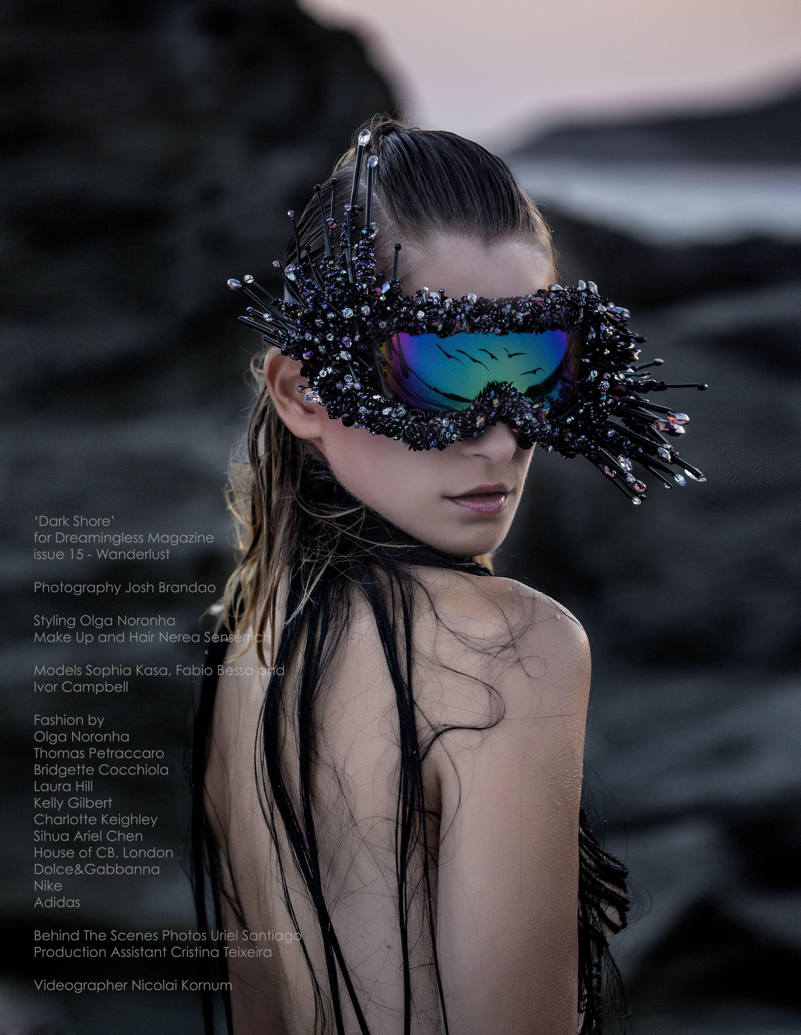 Goggle piece