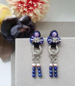 | AROF13| 静- Reverie Blue Earrings