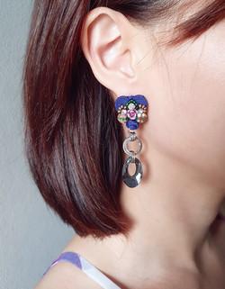 | AROF12| 梦- Cloisonné Dream Earrings