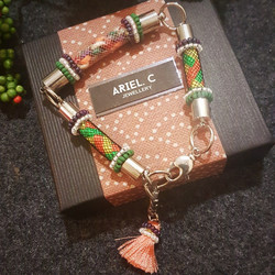 | ARWA07 | Trio Bracelet (Green)