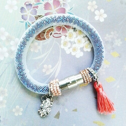 |ARS001| Coral Pink Bracelet