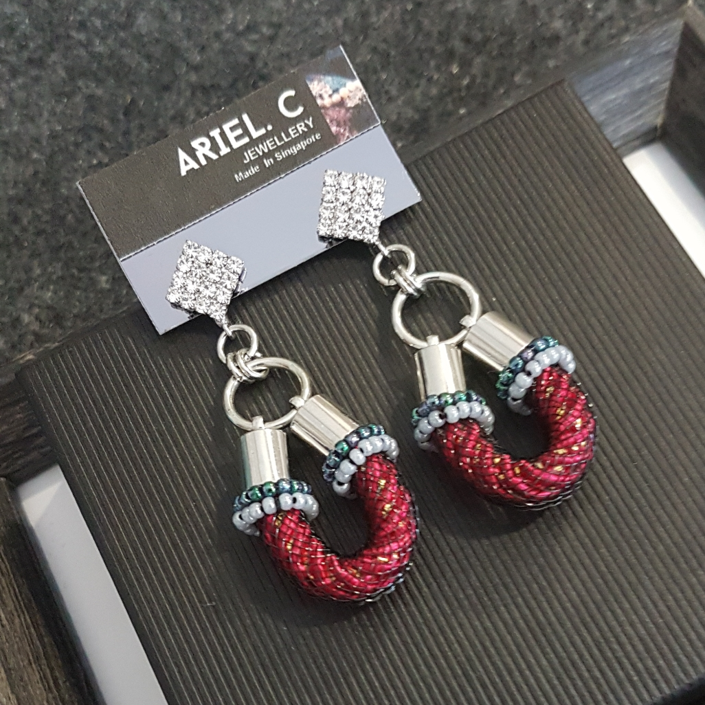 | ARLG01 | Layla Red Earrings