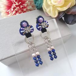 | AROF13| 婉- Reverie Blue Earrings