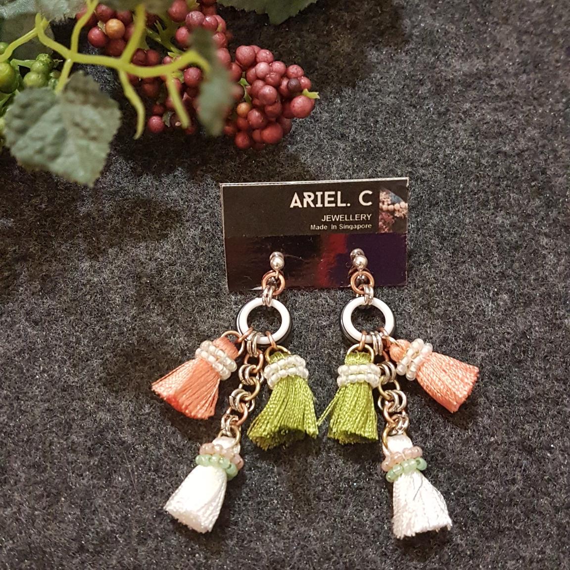 | ARB002 | Garden Spring Earrings
