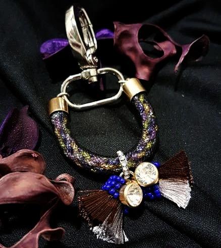 | ARF015 | Gold Bag charm/Key ring