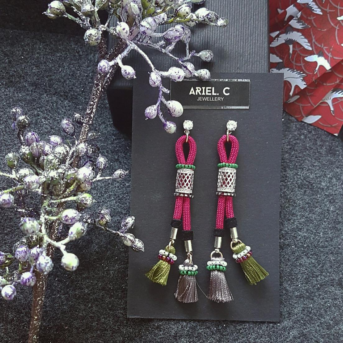 | ARSS05 | Obijime Earrings