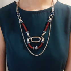 | ARLG02 | Layla Red Necklace