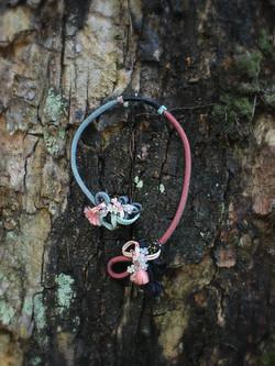 Sakura open end necklace