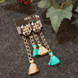 | ARB009 | Gold Chain Earrings