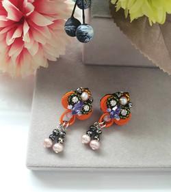 | AROF11| 珠- Pearlescent Glow Earrings