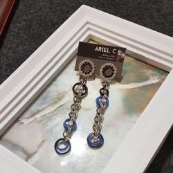 | ARB006 | Diamonte Blue Earrings