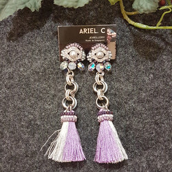 | ARB015 | Silver Grey Earrings