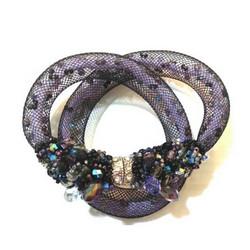 |ARB008| Purple Bow