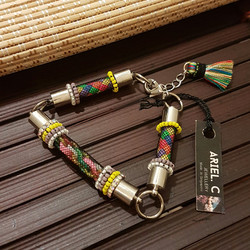 | ARC011 | Rainbow Tubular Bracelet