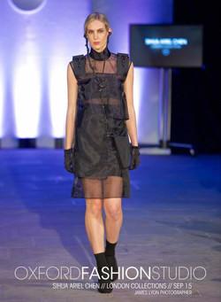 Earphones & Sheer Dress