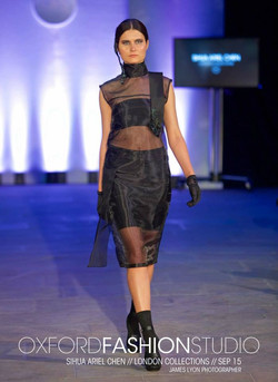 Earcuff & Sheer Dress
