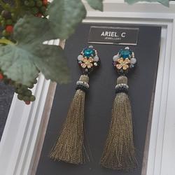 | ARML06 | Moonstone Bronze Tassels