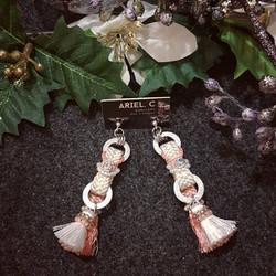 | ARX015 | Haori Strap Earrings