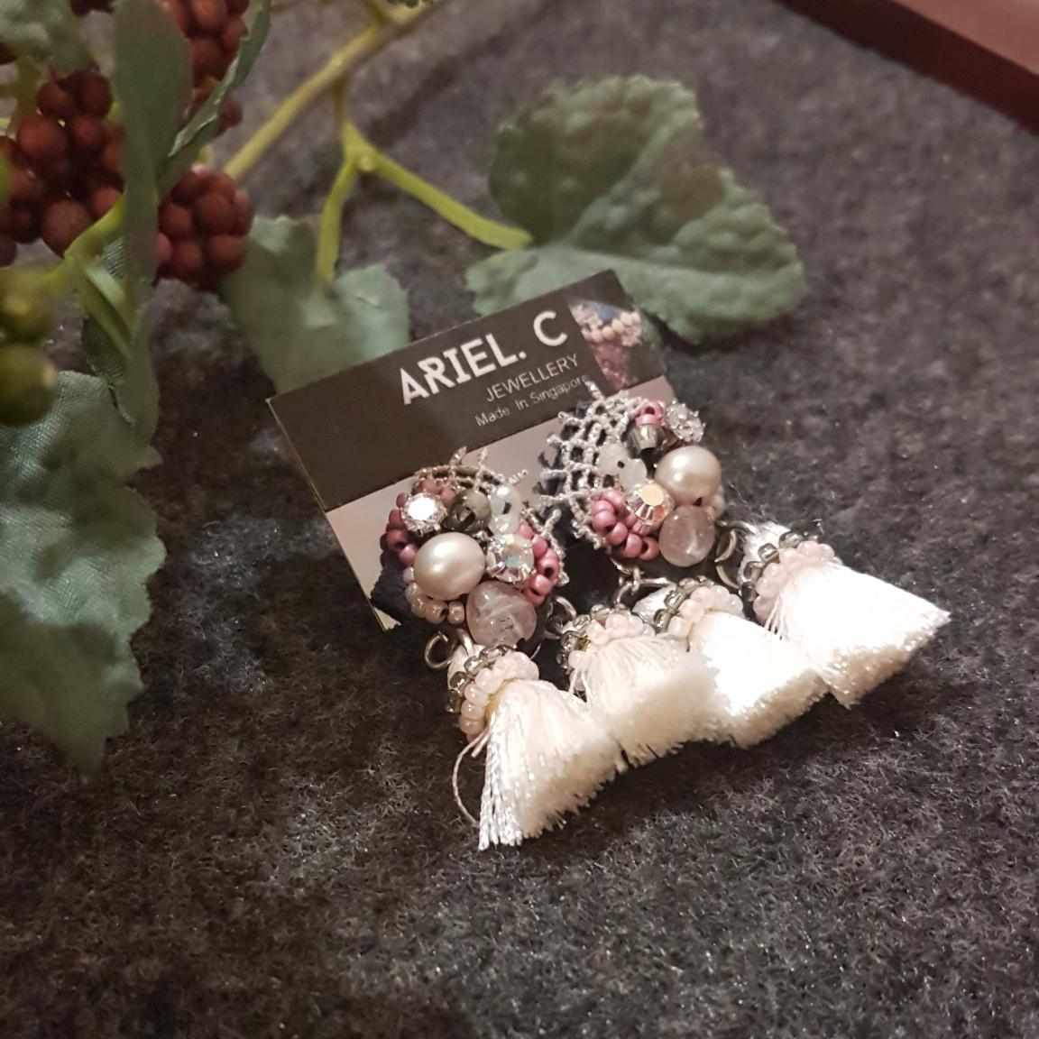 | ARB007 | Double Tassel Earrings