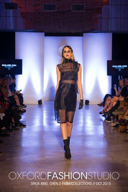 Earcuff & Sheer Dress by ARIEL.C