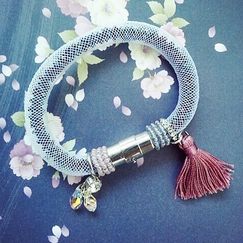 |ARS003| Vintage Pink Bracelet