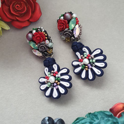 | AROF01| 欢-Joyful Spring Earrings