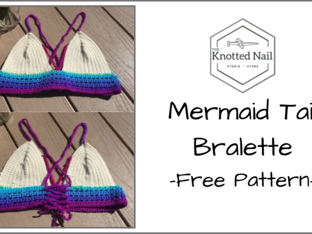 Free Pattern Friday: Mermaid Tail Bralette!