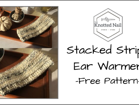 Free Pattern Friday: Stacked Stripe Ear Warmer!