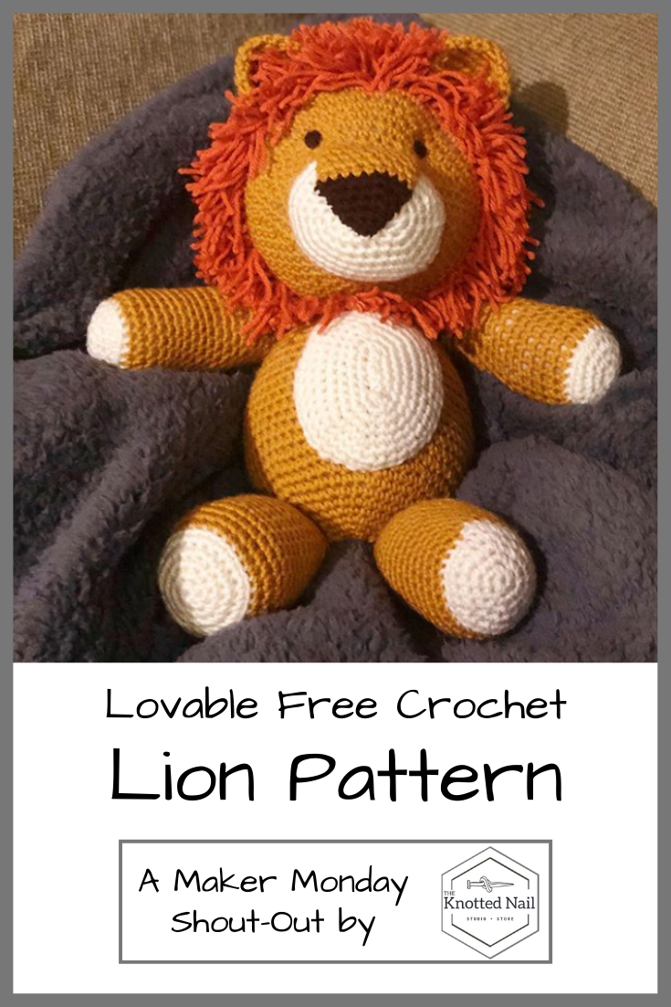 10 Free Crochet Lion Amigurumi Patterns - 99 Crochet | 1102x735