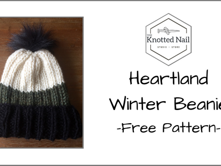 Free Pattern Friday: Heartland Winter Beanie!