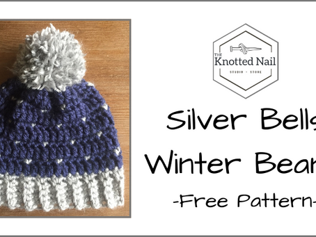 Free Pattern Friday: Silver Bells Winter Beanie!