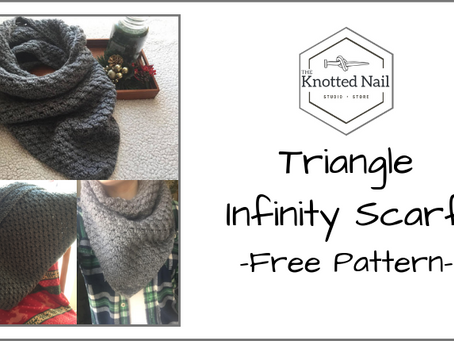 Free Pattern Friday: Triangle Infinity Scarf!