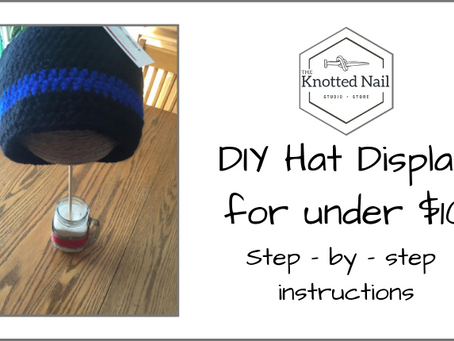 D.I.Y Hat Display for Under $10!