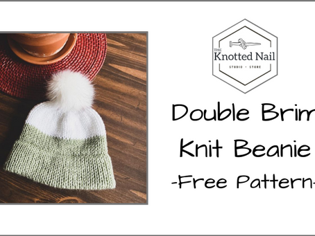 Free Pattern Friday: Easy Double Brim Knit Beanie