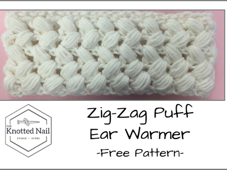 Free Pattern Friday: Zig-Zag Puff Ear Warmer (2 sizes)!