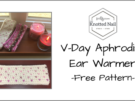Free Pattern Friday: Valentine's Day Aphrodite Ear Warmer!