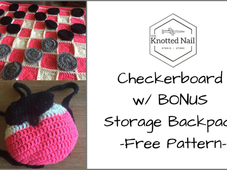 Free Pattern Friday: Checkerboard w/ BONUS Storage Backpack!