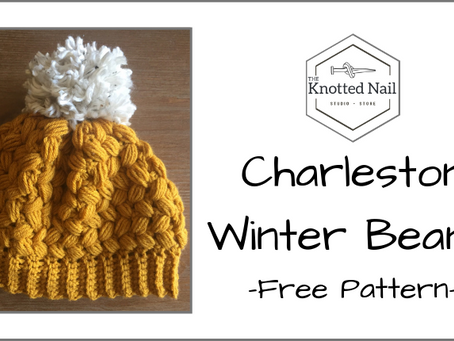 Free Pattern Friday: Charleston Winter Beanie!